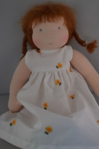poppelien doll in summer dress