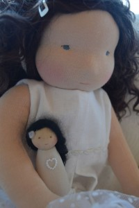 Snow and her dolly snowwhite